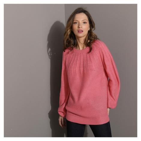 Originální pulovr růžová