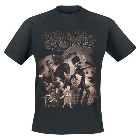 My Chemical Romance On Parade tricko černá