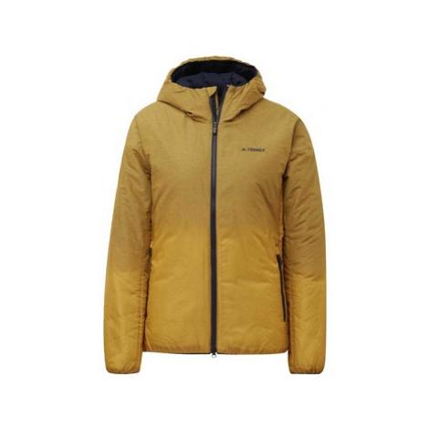 Adidas Bunda Terrex Windweave Insulated Hooded Zlatá