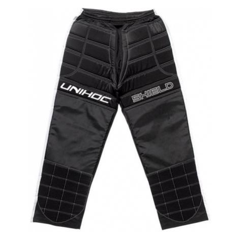 Unihoc SHIELD PANTS černá - Florbalové brankářské kalhoty