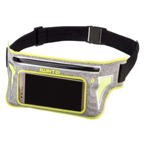 Runto DEX žlutá - Sportovní běžecký opasek