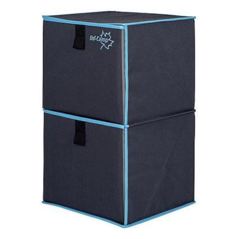 Skříňka Bo-Camp Folding Cupboard 2 Barva: šedá/modrá