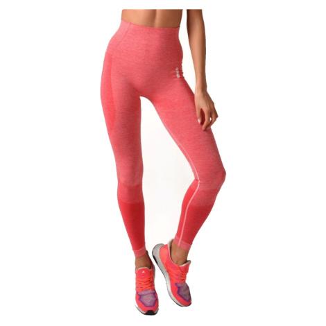 Dámské Legíny Boco Wear Raspberry Melange Push Up Růžová