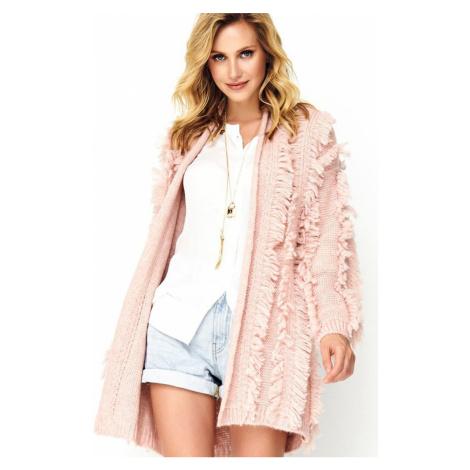 Růžový svetr S81
