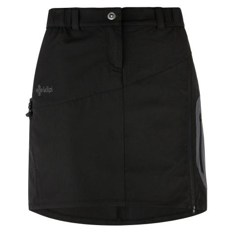 KILPI Dámská sportovní sukně ANA-W ML0032KIBLK Černá