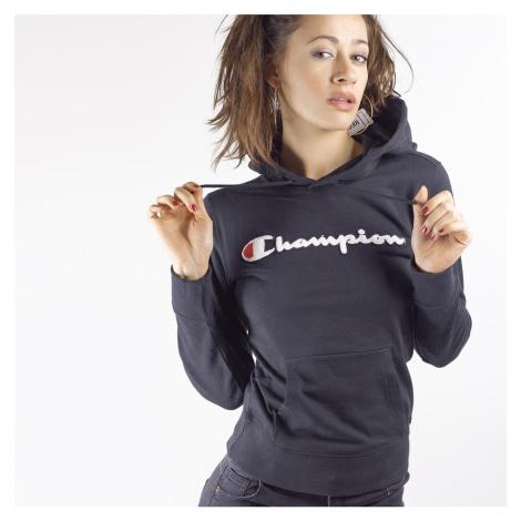 Černá mikina Rochester Hooded Sweatshirt Champion