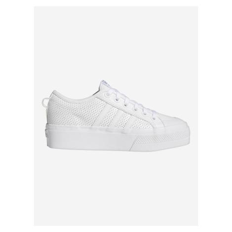 Nizza Platform Tenisky adidas Originals Bílá