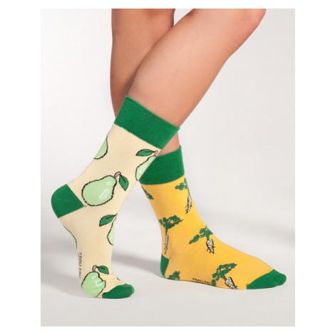 "Ponožky Spox Sox - ""Ni Z Gruszki, Ni Z Pietruszki"" (Ani z hrušky, ani z petržele)"