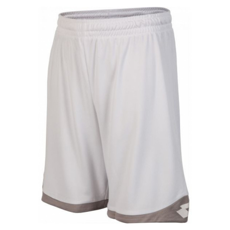 Lotto SHORT DELTA PLUS JR bílá - Chlapecké šortky