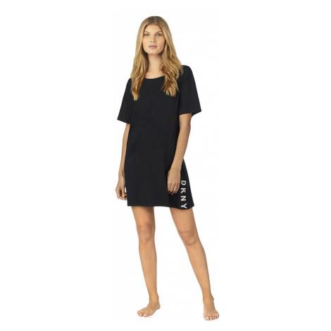 DKNY noční košilka YI2319415 černá - Černá