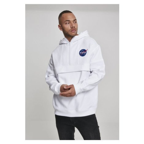 NASA Chest Embroidery Pull Over Hoody Urban Classics