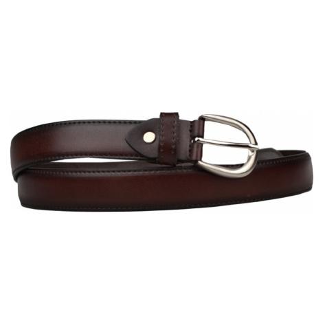 Cintura Sottile (2,9 cm) Barva pásku: hnědá tmavá