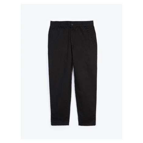 GATE Jednoduché bavlněné kalhoty chino