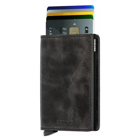 Černá peněženka Slimwallet Vintage SECRID