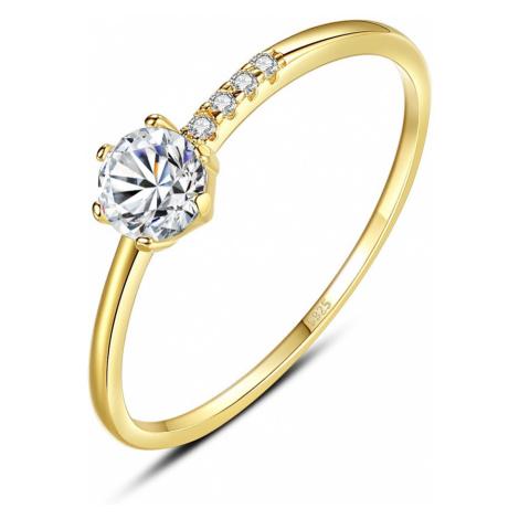 Linda's Jewelry Stříbrný prsten Laura Ag 925/1000 IPR090 Velikost: 54