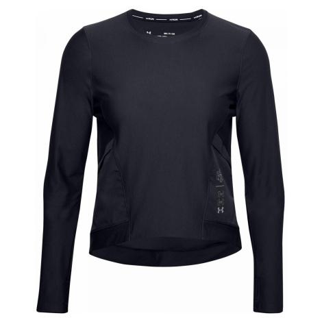 Dámské tričko Under Armour UA Run Anywhere Cropped Černá