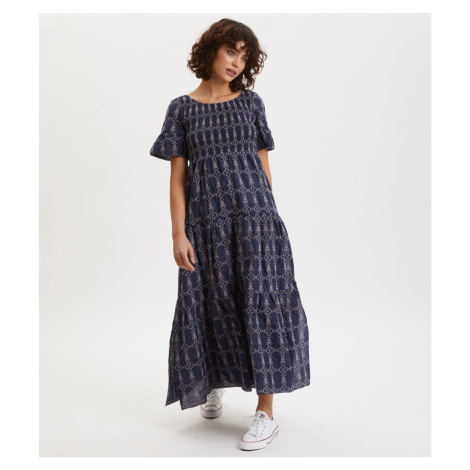 Šaty Odd Molly Powerful Cotton Dress - Modrá