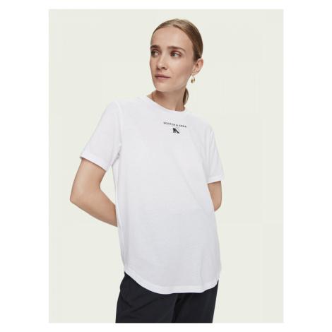 Scotch & Soda Scotch & Soda dámské bílé tričko