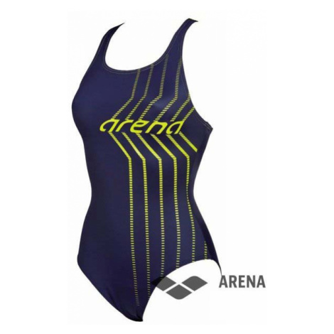 Arena ArenaW Osterland one piece dámské plavky Barva: navy/soft green