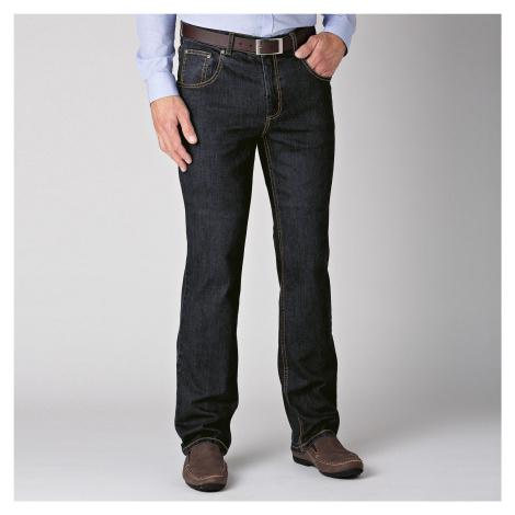 Blancheporte Speciální džíny pro větší bříško černá