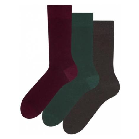3PACK ponožky Dedoles z recyklované bavlny Džentlmen S