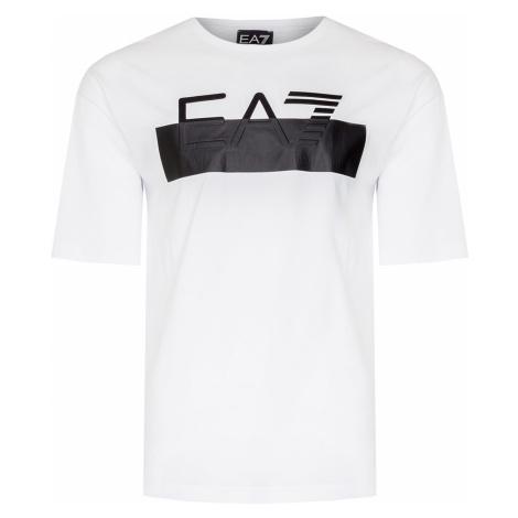 Tričko EA7 EMPORIO ARMANI bílá