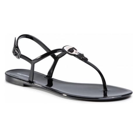 Černé sandály - KARL LAGERFELD | Ikonik