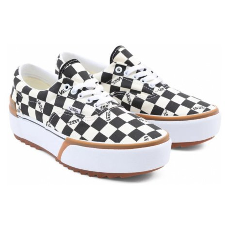 Boty Vans Era Stacked checkerboard multi/true white