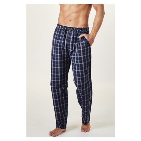 Kostkované pyžamové kalhoty