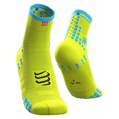 Ponožky Compressport PRO RACING SOCKS V3.0 Żółty