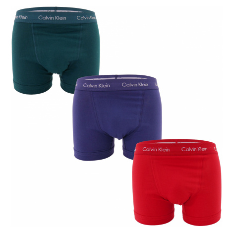 3PACK pánské boxerky Calvin Klein vícebarevné (U2662G-WIE)