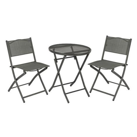 Kempingový nábytek Bo-Camp Bistro Set 3 Barva: šedá