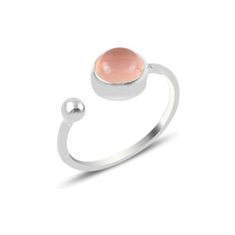 OLIVIE Stříbrný prsten RŮŽENÍN 4790