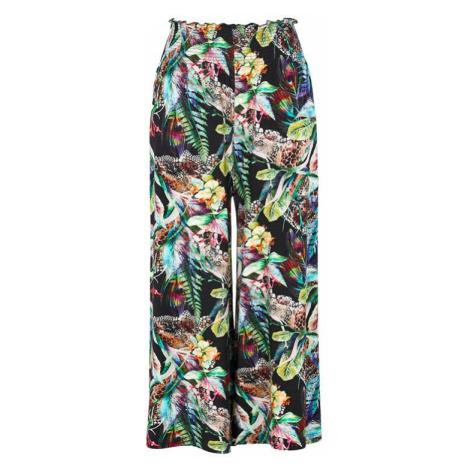 Úpletová kalhotová sukně culotte s žabičkováním Cellbes