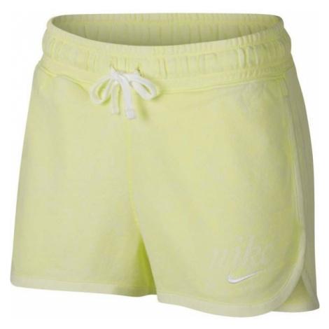 Nike NSW SHORT WSH žlutá - Dámské šortky