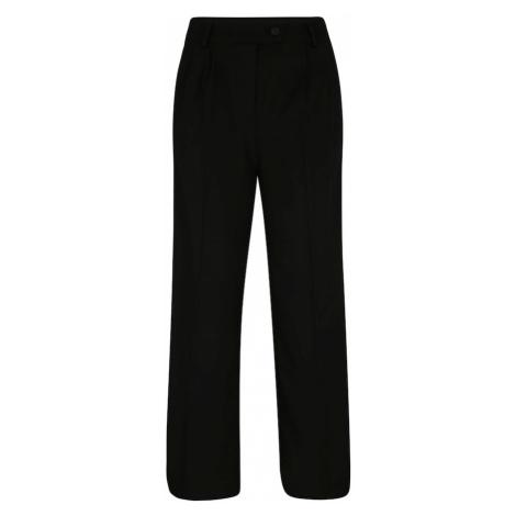 Y.A.S (Petite) Kalhoty s puky 'Doris' černá