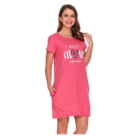 Mateřská kojicí košilka Best mom pink Doctor Nap
