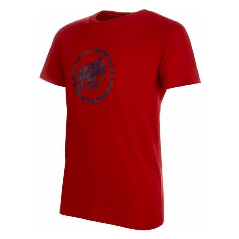 Tričko Mammut ogo T-Shirt - červená