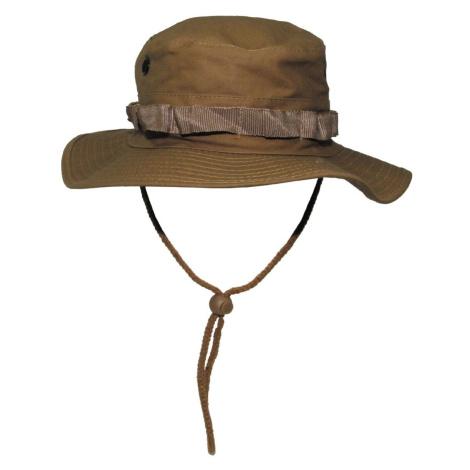 Klobouk MFH® US GI Bush Hat Rip Stop - coyote Max Fuchs