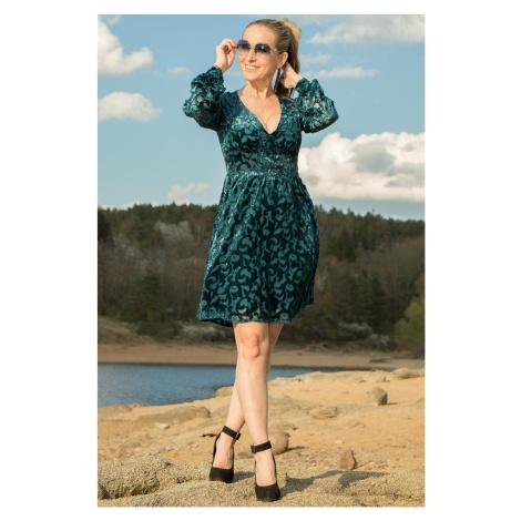 Michael Kors dámské šaty zelené