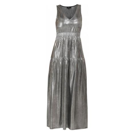 Faina Šaty stříbrná
