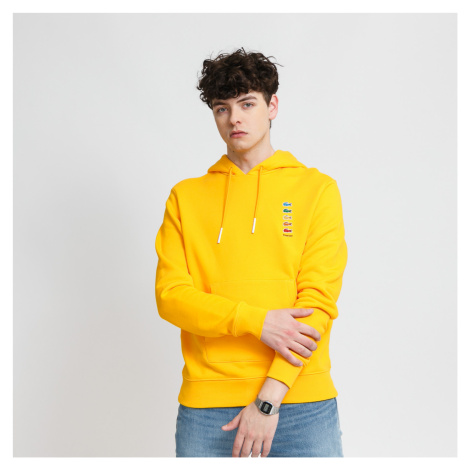 LACOSTE Lacoste x Polaroid Cotton Fleece Sweatshirt žlutá