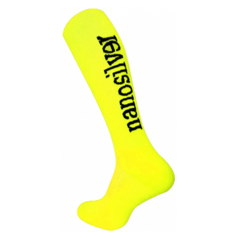Nanosilver kompresní podkolenky reflexní žlutá