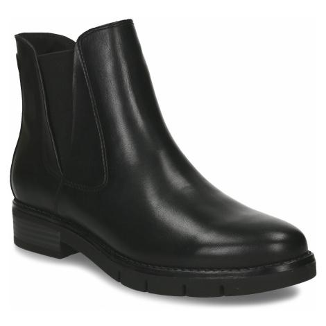 Dámská kožená obuv v Chelsea stylu Baťa