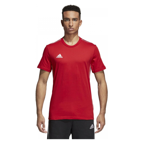 Tričko Adidas Core 18 Tee Červená