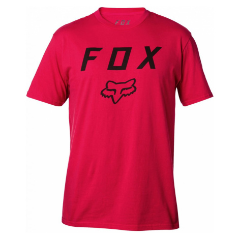 Tričko Fox Legacy Moth dark red