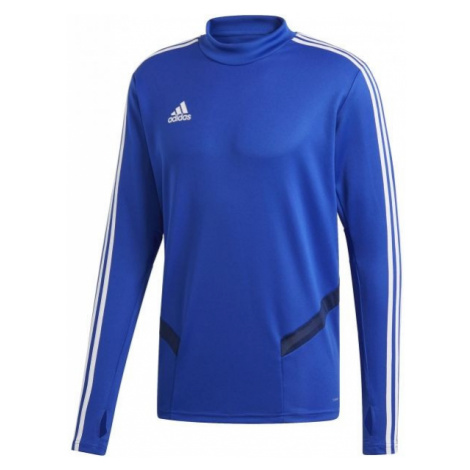 adidas TIRO19 TR TOP modrá - Pánské sportovní triko