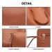 Hnědý praktický dámský kabelkový set 4v1 Pammy Lulu Bags