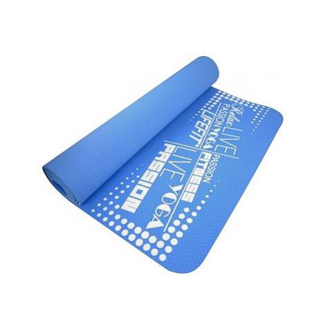 Lifefit Yoga Mat TPE modrá