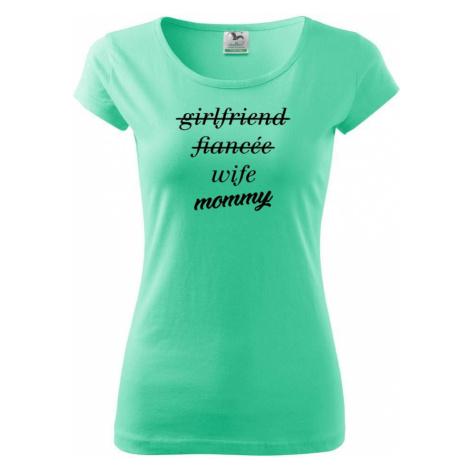 Partnerské triko nastávající rodiče - Pure dámské triko
